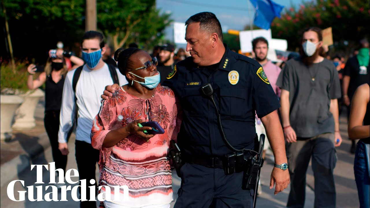 'We will march with everybody': Houston police chief tells George Floyd protesters