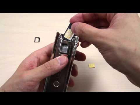 How to cut a Micro SIM Card into a Nano SIM Card
