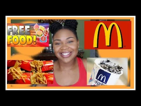 How I Got FREE MCDONALDS FOR ONE YEAR! 🍟🍔 *NOT CLICKBAIT*