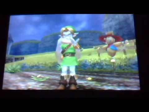 my scarecrow's song in LozOoT 3D
