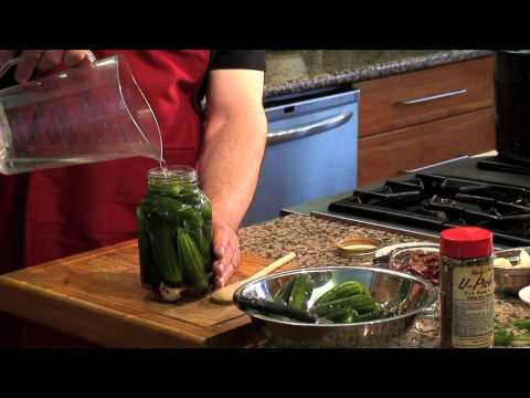 How to make Spicy Dill Pickles