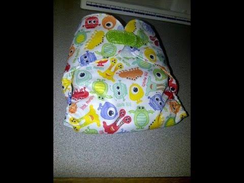How to make a Flip Cloth Diaper Cover