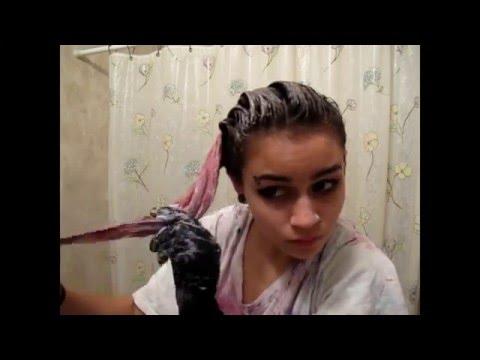 BLEACH BATH TO REMOVE HAIR COLOR