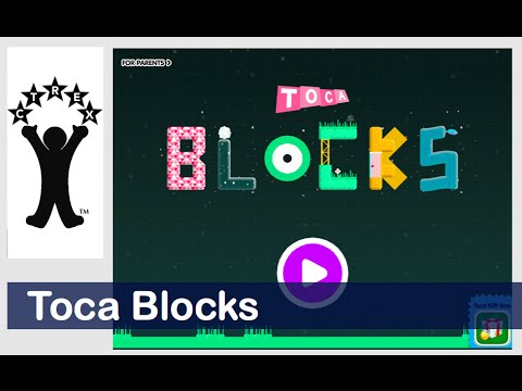 Toca Blocks by Toca Boca -- A six minute demo of key features