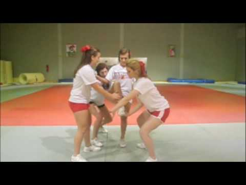 Cheerleading; How to do a full up