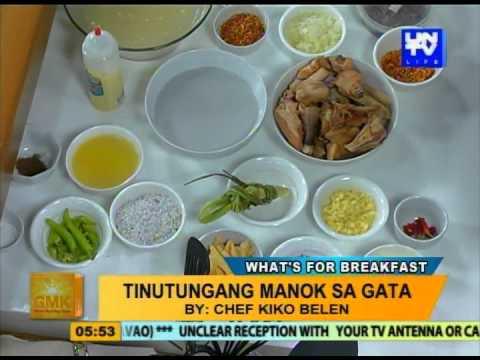 Good Morning Kuya: Miki Ti Batac and Tinutungang Manok sa Gata