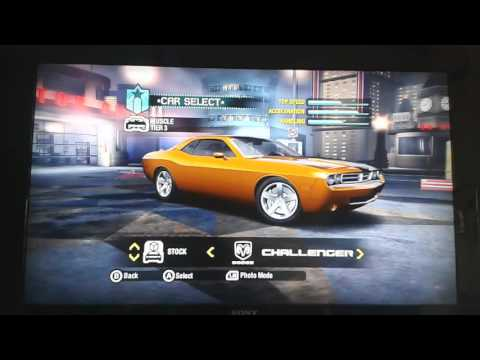 Need for speed carbon xbox 360 all cars