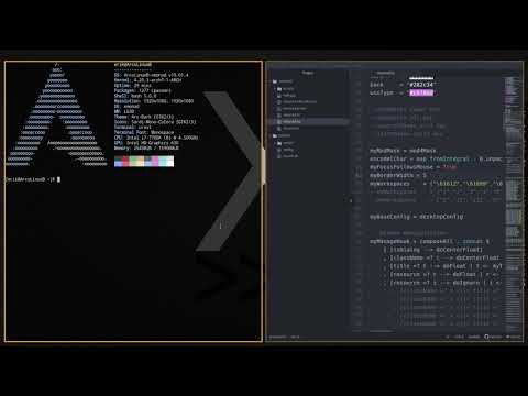 ArcoLinux : 785 how to change the border width in xmonad