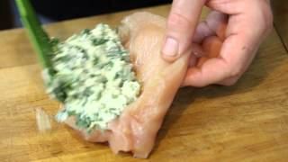 Stuffed Chicken Breast Recipe With Sauce : Savory Chicken Dishes