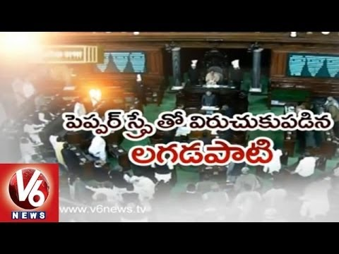 Telangana bill: Pepper spray in Parliament Leaves Indian democracy in Tears