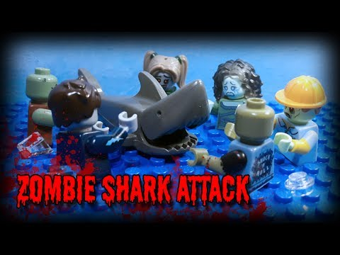 Lego Zombie Shark Attack