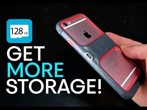 New Case Upgrades iPhone 6S Storage Up To 128GB!