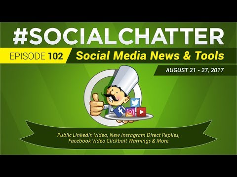 Social Media Marketing Talk Show 102 - LinkedIn video and Facebook 360 cover photos