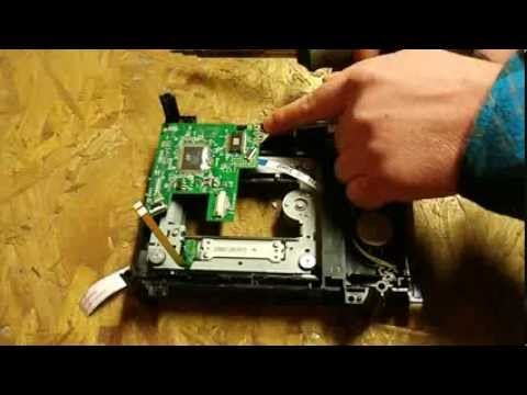How to replace Xbox 360 liteon DVD drive tutorial