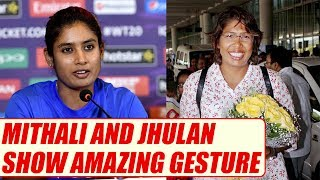 ICC Women World Cup: Mithali, Jhulan Goswami donate jersey to Lord