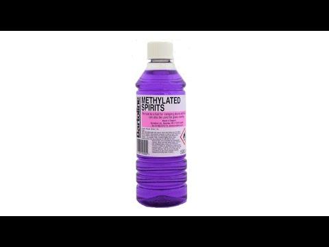 Cheeky Tip | Using methylated spirits on wooden doors