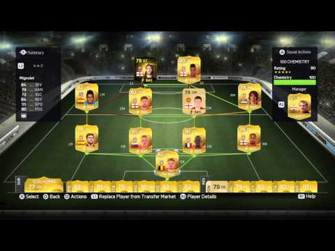 FIFA 15 ULTIMATE TEAMEASY 100 CHEMISTRY