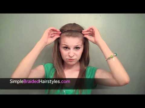 Easy Braided Headband - Back To School Hairstyle