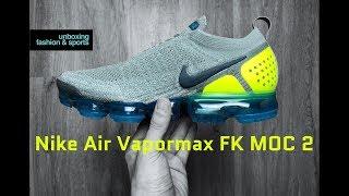 e7813e6c61bc Nike Air Vapormax FK MOC 2  mica green volt-neo Turq
