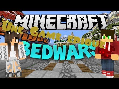Une game épique ? Minecraft Bed Wars ( ft XeaFire )