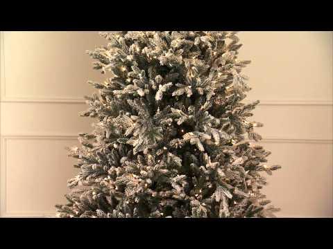Snowy Nordmann Fir Pro Shape Artificial Christmas Tree