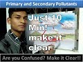 PRIMARY AND SECONDARY POLLUTANT-AIR POLLUTION::MATHS POWER