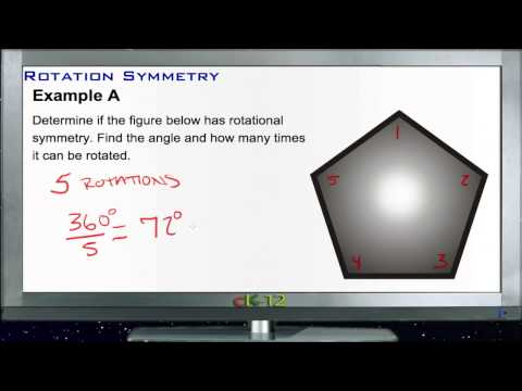 Rotation Symmetry: Examples (Basic Geometry Concepts)