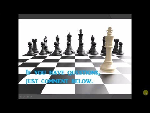 1. How to play chess Tagalog/ Filipino Tutorial