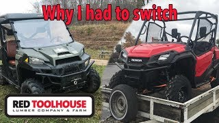 Coleman Oufitter 550 UTV vs Massimo MSU 500 by Hisun Motors at