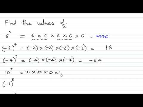 Exponents sums