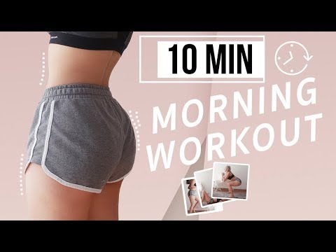 10min Easy BUTT WORKOUT for beginners or lazy people   GDiipa
