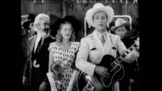 """""""Don't Fence ME In"""" (1945) FINALE Roy Rogers DALE EVANS Trigger SotP"""