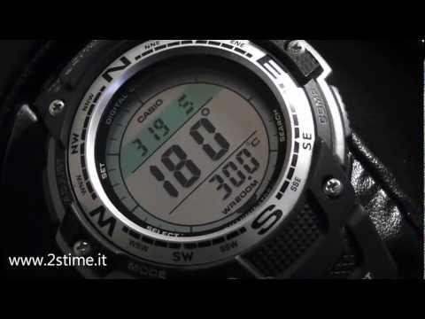 2S Time - CASIO SGW 100 1V Digital Compass Temperature Twin Sensor Watch