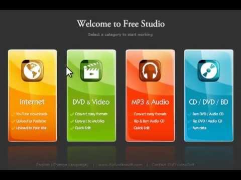 Converting Audio Files/Audio Dub (DVDVideoSoft Free Studio)