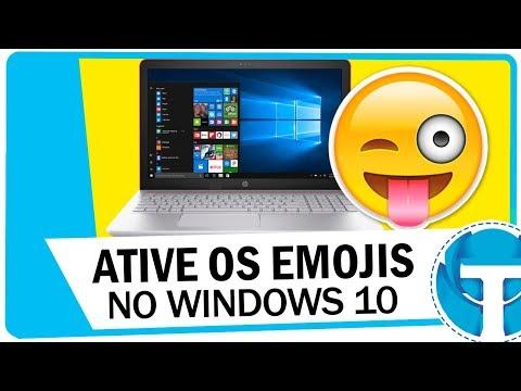 Como ativar e usar os Emojis do Windows 10