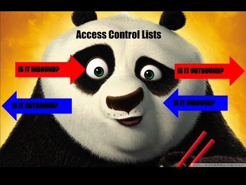 Inbound Or Outbound Access Control List - Simple And Straightforward Explanation