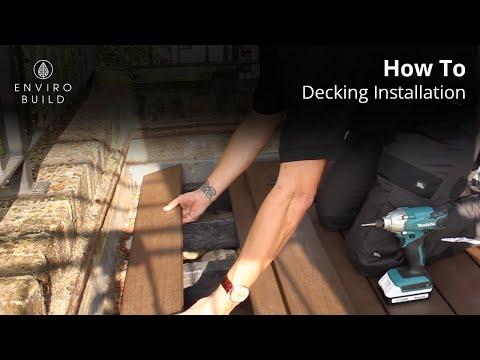 EnviroBuild - Composite Decking Installation Step-by-step Tutorial