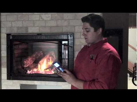 XIR4 Burn Video How to run and operate my gas fireplace insert