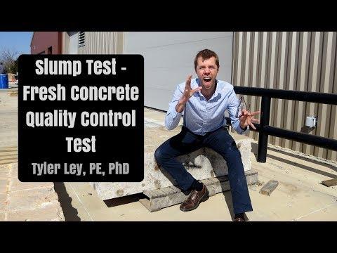 Slump Test - Fresh Concrete Quality Control Tests pt 1