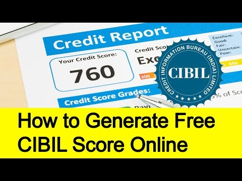 How to get Free CIBIL Score Online Easiest Method | Tamil Banking