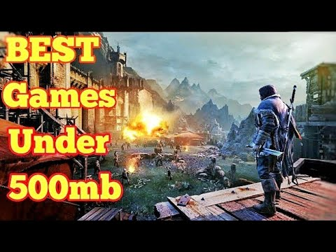 Top 5 Games Under 500mb with download links For Low Spec Gamers Free Fps games for pc,xbox