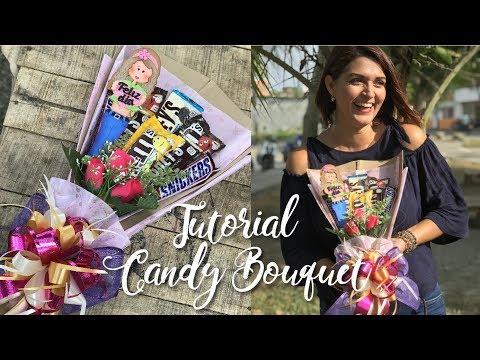 Tutorial: Como hacer un Candy Bouquet