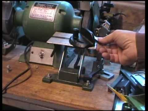 Lathe tool sharpening made easy