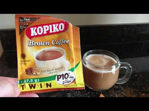 Kopiko Indonesian instant brown coffee