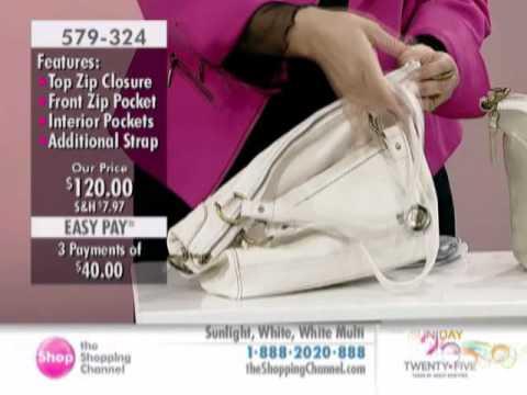 The Sak Pebble Leather Double Handle Iris Shopper Tote