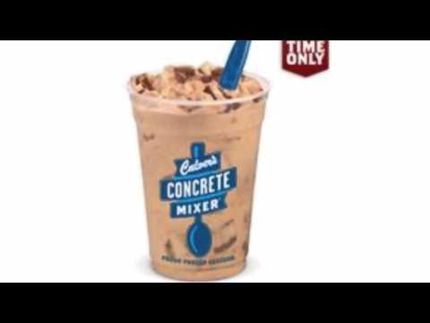 Culvers pumpkin milkshake concrete mixer