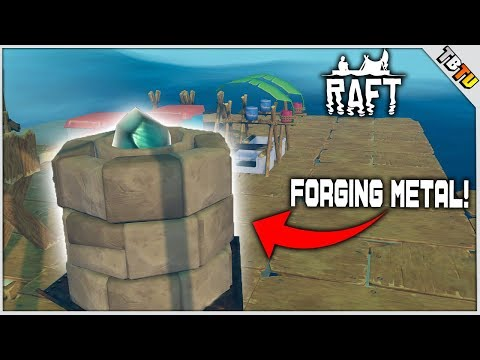 HOW TO GET METAL AND COPPER ORE! EPIC ISLAND LOOT! Raft Multiplayer PC Gameplay E3