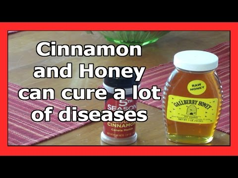 Cinnamon and Honey can cure a lot of diseases