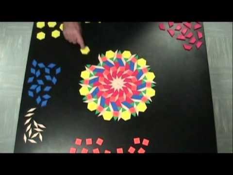 Pattern Blocks Art by DJ JAB and DJ SImms
