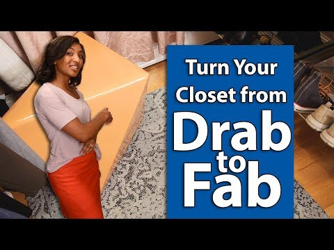 Take Your Closet from Drab to Fab